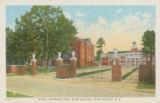 North Entrance Gate, Elon College, Elon College, N.C.